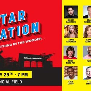 Philly Comedy All-Star Celebration- Theres something in the wooder...