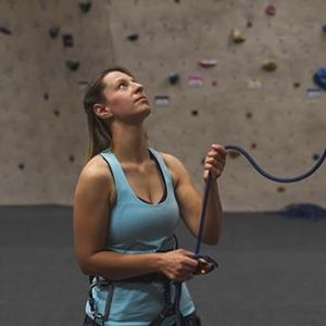 Lead Belaying with an Assisted Braking Device