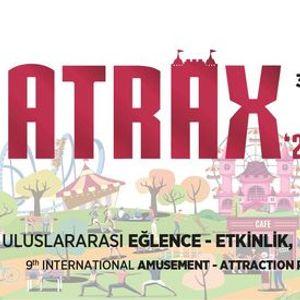 ATRAX - 9. Uluslararas ElenceEtkinlik Park & Rekreasyon Fuar  9th International Amusement Attraction Park & Recreation Exhibition