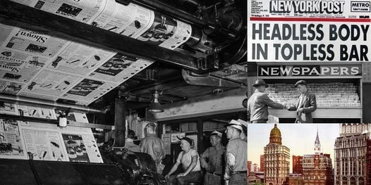 'Extra! Extra! The Inside Scoop of New York's Newspaper Legacy' Webinar, 28 April | Online Event | AllEvents.in