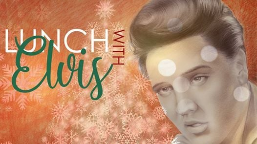 Christmas lunch with Elvis