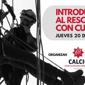 Curso Virtual - Introduccin al Rescate con Cuerdas