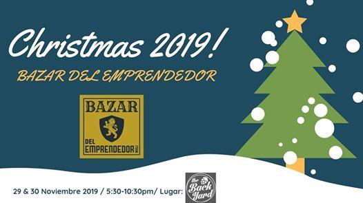 Christmas 2019 Bazar del Emprendedor_1ra Edicin.