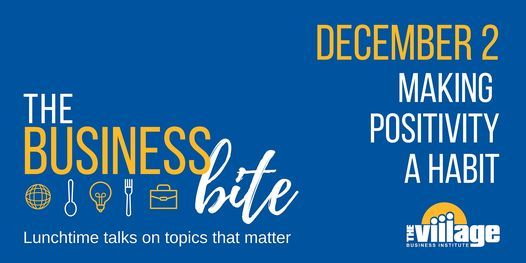 Making Positivity a Habit, 2 December | Online Event | AllEvents.in