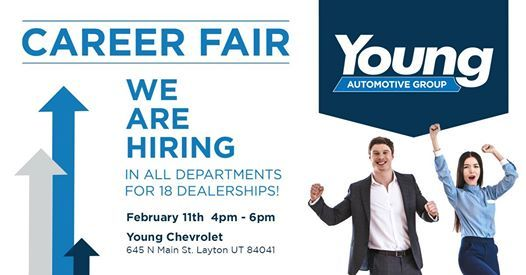 Young Chevrolet Layton Utah >> Young Automotive Career Fair At Young Chevrolet Layton