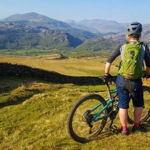 Trail Divas Guided Riding in Machynlleth Mid Wales