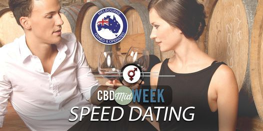 CBD Midweek Speed Dating   F 40-52, M 40-54   October, 27 October   Event in South Yarra   AllEvents.in