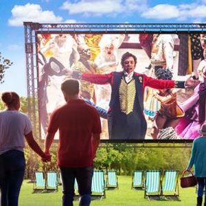 The Greatest Showman Outdoor Cinema Sing-A-Long in Peterborough