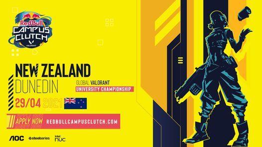 Red Bull Campus Clutch - Dunedin Qualifiers, 29 April | Event in Dunedin | AllEvents.in