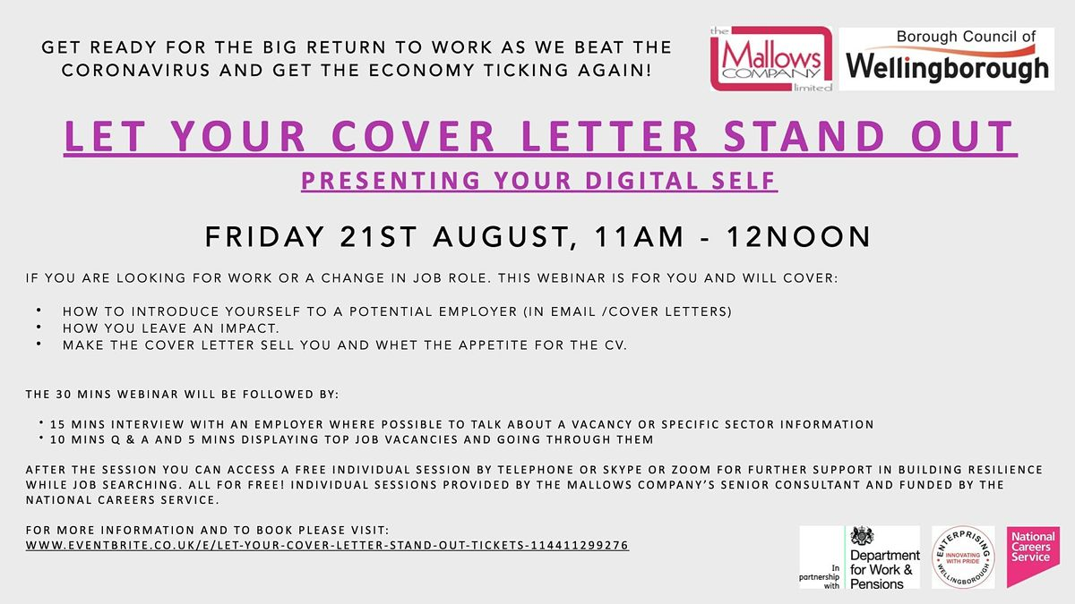 Cover Letter Stand Out from cdn-az.allevents.in