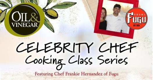 Celebrity Chef Series -- Chef Frankie Hernandez of FUGU, 18 May | Event in Daytona Beach | AllEvents.in