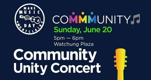 coMMMunity sing along, 20 June   Event in Montclair   AllEvents.in