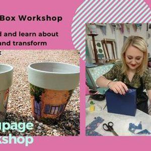 Decoupage Workshop (1 metre plus apart due to Covid restriction)