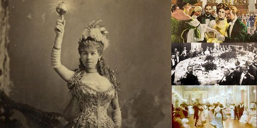'The Famous Gilded Age Balls that Forever Changed NYC' Webinar, 6 November | Online Event | AllEvents.in