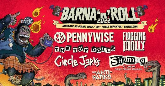 BARNA 'N' ROLL 2021 (Official Event), 31 July | Event in Barcelona | AllEvents.in
