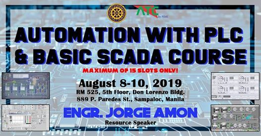 Automation with PLC and Basic SCADA Course at Advance Training