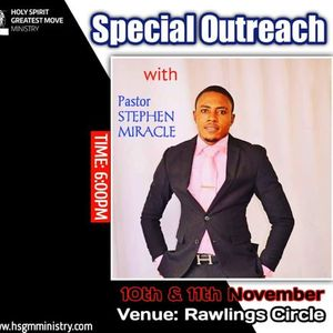 Healing Outreach with Pastor Stephen Miracle