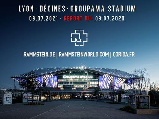 Rammstein - Lyon, Groupama Stadium - 09/07/2021, 9 July   Event in Dhaka   AllEvents.in