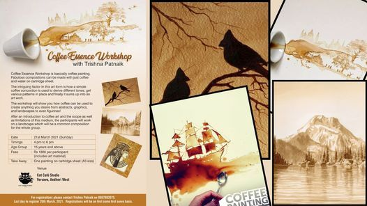Coffee Essence Workshop with Trishna Patnaik, 21 March | Event in Mumbai | AllEvents.in