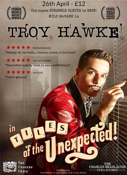 Troy Hawke in Tiles of the Unexpected