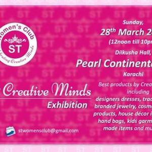 11th ST Womens Club Celebrating Creative Minds Exhibition