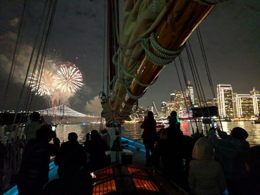 New Years Eve Fireworks Sail December 31 2019