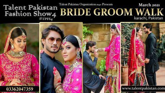 BRIDE GROOM WALK 2021, 31 December   Event in Karachi   AllEvents.in