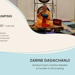 Onsite Meditation Manifestation With Quantum Jumping And Gonging Meditation With Zarine