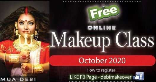 Free Makeup CLASS 2020 (online) by Debi, 31 October | Event in Kolkata | AllEvents.in