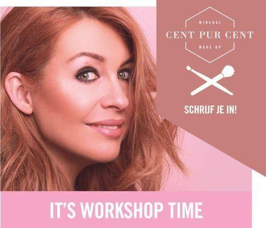 Workshop natuurlijke make-up Cent Pur Cent