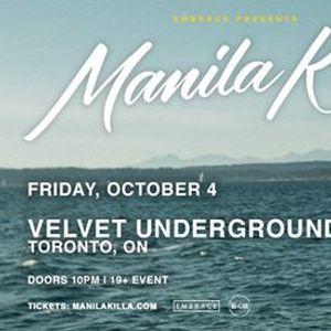 Manila Killa at Velvet Underground  Oct 4