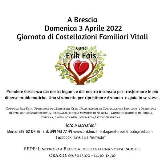Costellazioni Familiari Vitali a Brescia, 5 September   Event in Brescia   AllEvents.in