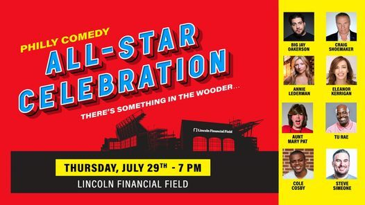 Philly Comedy All-Star Celebration- There's something in the wooder...   Event in Camden   AllEvents.in
