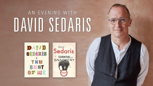 Baltimore MD An Evening with David Sedaris | Event in Baltimore | AllEvents.in