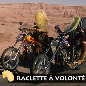 Soire Raclette  Projection dEasy Rider