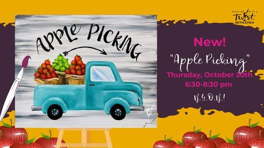 """NEW! - """"Apple Picking"""", 20 October 