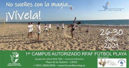 1º CAMPUS AUTORIZADO RFAF FUTBOL PLAYA | Event in Cadiz | AllEvents.in