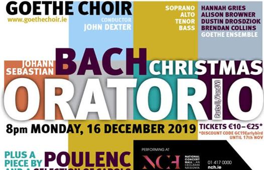 Bach Christmas Oratorio - Goethe Choir (Dublin)