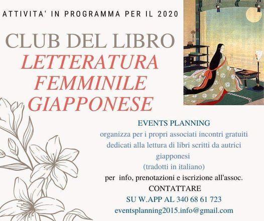 Club del libro- Letteratura femminile giapponese, 15 May | Event in Cagliari | AllEvents.in