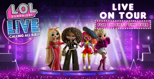 L.O.L. Surprise! Live, 17 October | Event in Atlanta | AllEvents.in