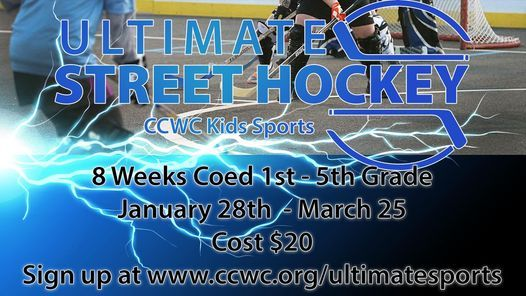 Ultimate Sports - Street Hockey 2021, 28 January | Event in New Port Richey | AllEvents.in