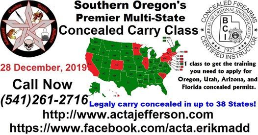 multi state concealed carry permit