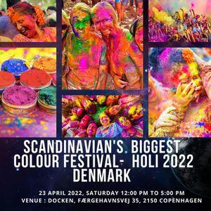 Holi Festival of Colours Celebration Denmark 2021