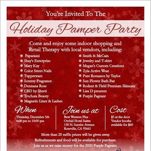 Holiday Pamper Party
