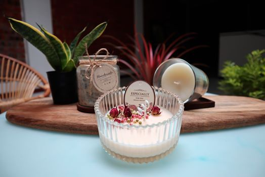 Soy Wax Massage Candle and Aroma Candle Making Workshop