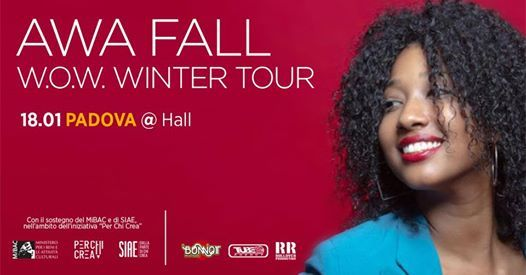 Awa Fall  WoW Winter Tour 2019  Padova