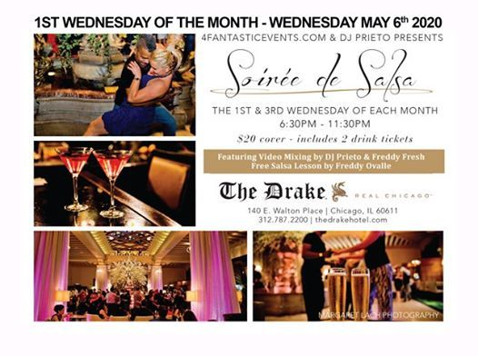 1st Wednesday of the Month - Soire de Salsa at The Drake Hotel