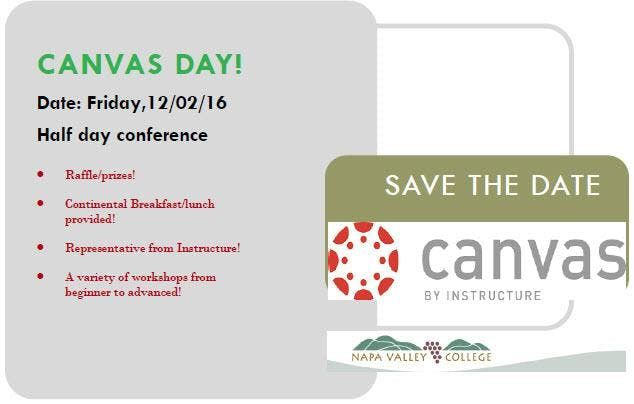 Special Event Canvas Day at NVC