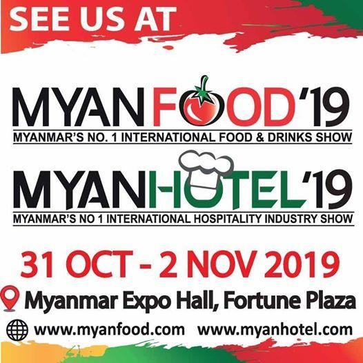MyanFood/ MyanHotel at Myanmar Expo Hall at Fortune Plaza