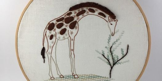 Introduction to Embroidery: Contemporary Animal, 4 September | Online Event | AllEvents.in